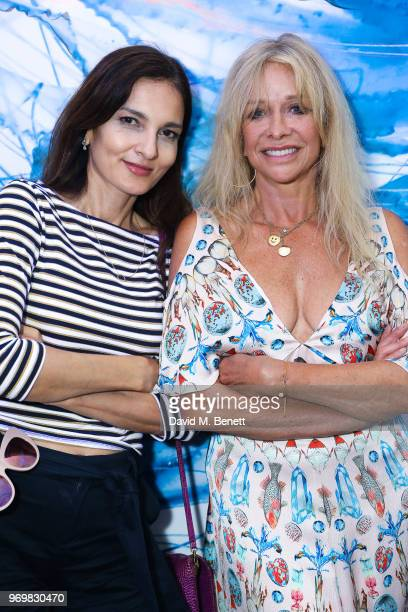 f5cb1d855 Yasmin Mills and Jo Wood attend the launch of Sky Ocean Rescue s  Pass On  Plastic
