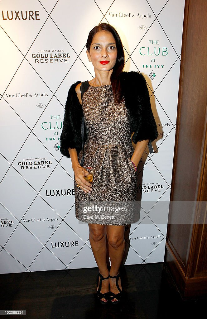 Fearless Party With LUXURE Magazine At The Club At The Ivy - Arrivals