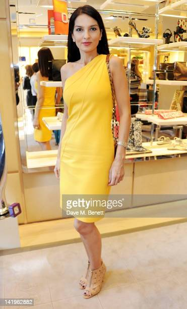 Yasmin Mills attends a children's afternoon tea party hosted by Roger Vivier to launch their new Jeune Fille collection for girls at their Sloane...