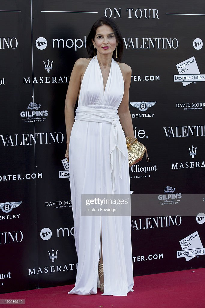 Yasmin Mills attends a gala dinner and auction to celebate the end of the Cash & Rocket tour at Natural History Museum on June 8, 2014 in London, England.