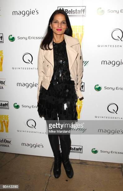 Yasmin Mills attends the After party for the London Premiere of 'Nowhere Boy' hosted by Quintessentially at The House of St Barnabas on November 26...