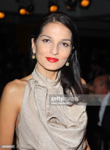 Yasmin Mills attends the Anglomania show by Vivienne Westwood at Selfridges on November 16 2009 in London England