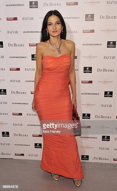 Yasmin Mills attends the Love Ball London hosted by Natalia Vodianova and Harper's Bazaar as part of London Fashion Week Autumn/Winter 2010 in aid of...