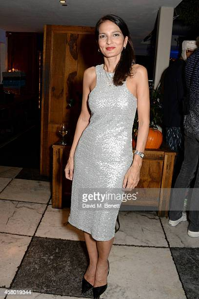 Yasmin Mills attends the Teen Cancer America Fundraiser hosted by Darren Strowger Roger Daltrey and Rebecca Rothstein on October 28 2014 in Los...