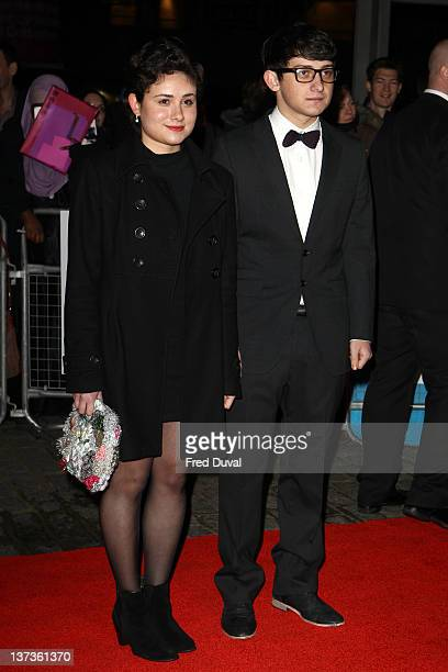 Yasmin Paige and Craig Robert attends the London Film Critics' Circle Awards at BFI Southbank on January 19 2012 in London England
