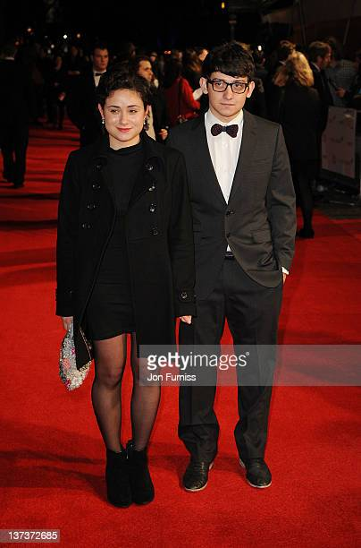 Yasmin Paige and Craig Roberts attend the London Film Critics' Circle Awards at BFI Southbank on January 19 2012 in London England
