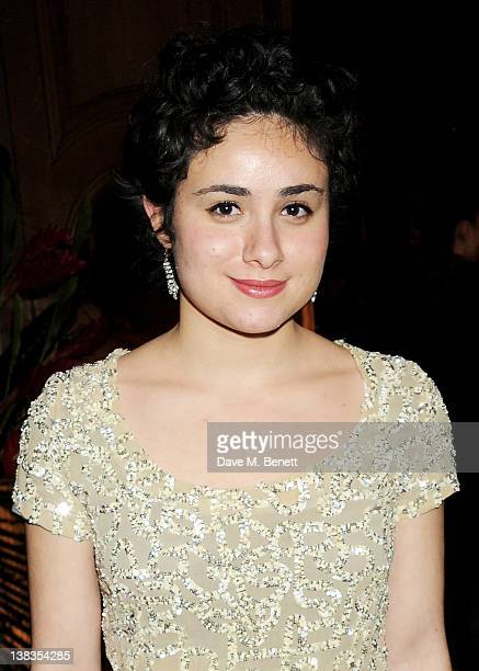 Yasmin Paige attends the London Evening Standard British Film Awards 2012 at the London Film Museum on February 6 2012 in London England