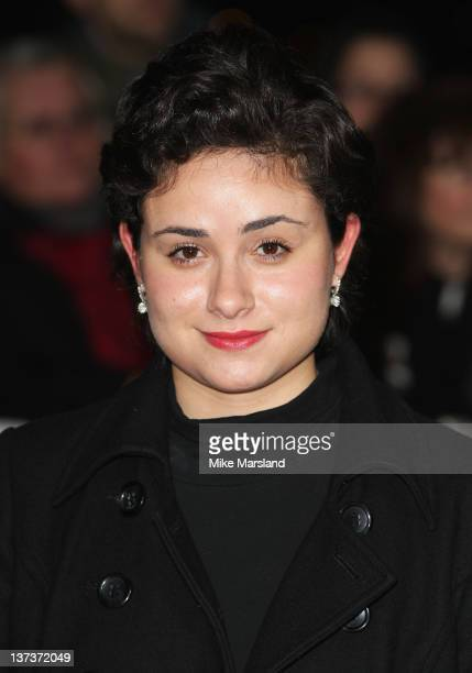 Yasmin Paige attends the London Film Critics' Circle Awards at BFI Southbank on January 19 2012 in London England