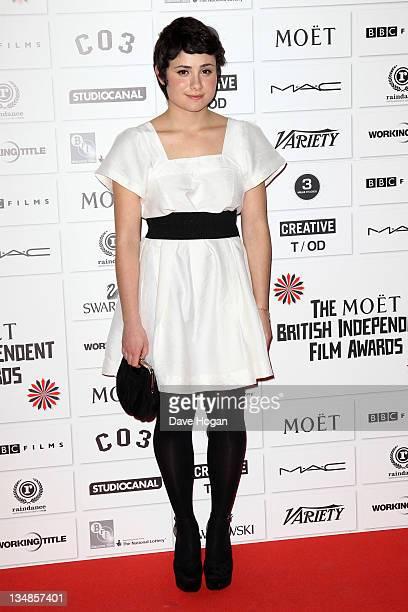 Yasmin Paige attends The Moet British Independent Film Awards 2011 at Old Billingsgate Market on December 4 2011 in London United Kingdom