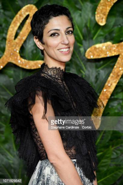 Yasmin Sewell attends the Fashion Awards 2018 in partnership with Swarovski at Royal Albert Hall on December 10 2018 in London England