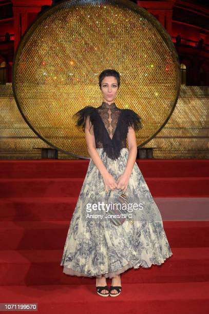 Yasmin Sewell during The Fashion Awards 2018 In Partnership With Swarovski at Royal Albert Hall on December 10 2018 in London England