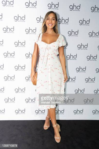 Yasmin Tuncdoruk attend the GHD Helios launch event at Bar M on February 03, 2020 in Sydney, Australia.