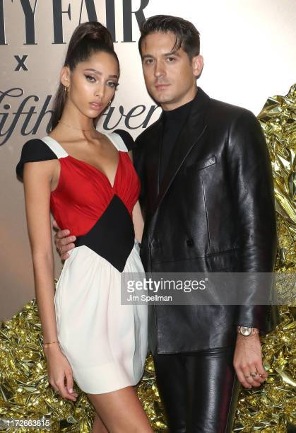 Yasmin Wijnaldum and GEazy attend the Vanity Fair's 2019 Best Dressed List at L'Avenue on September 05 2019 in New York City