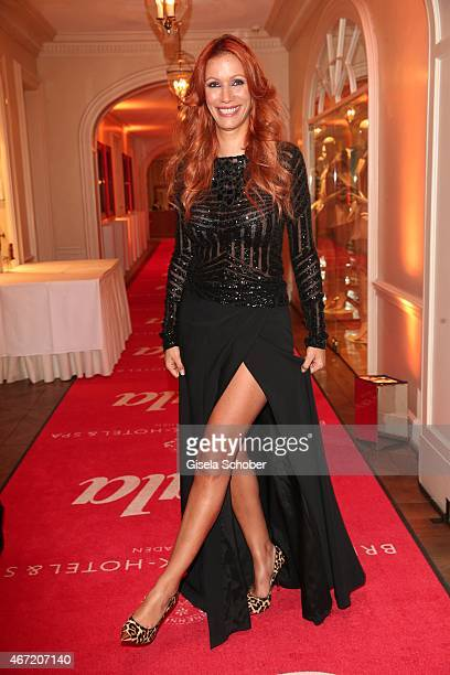 Yasmina Filali during the Gala Spa Awards 2015 at Brenners ParkHotel Spa on March 21 2015 in BadenBaden Germany