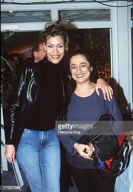 Yasmina Filali Mit Ihrer Mutter Malika Beim Reemtsma Medientreff