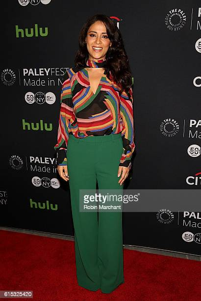 Yasmine Al Massri attends PaleyFest New York 2016 Quantico at The Paley Center for Media on October 17 2016 in New York City