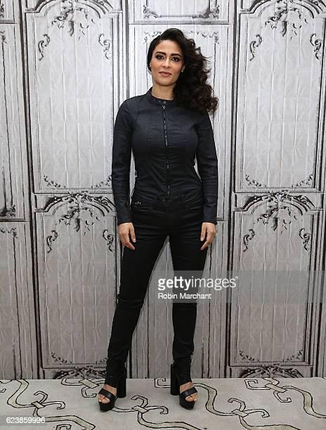 Yasmine Al Massri attends The Build Series Presents Yasmine Al Massri Quantico at AOL HQ on November 17 2016 in New York City