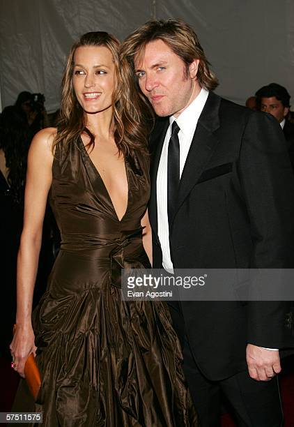 Yasmine and Simon Le Bon attend the Metropolitan Museum of Art Costume Institute Benefit Gala Anglomania at the Metropolitan Museum of Art May 1 2006...