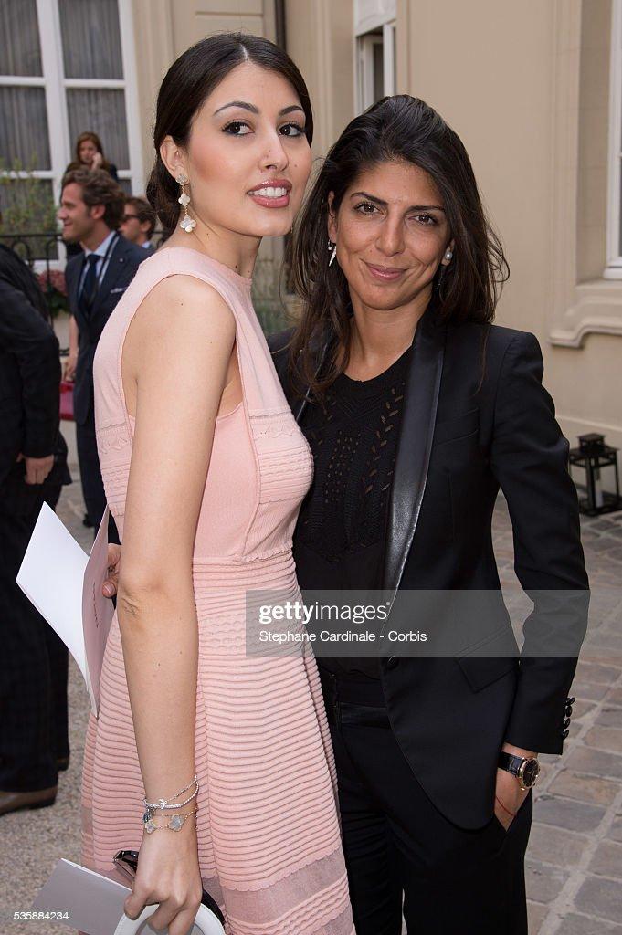 Yasmine Besson and Hoda Roche attend the Natan by Edouard