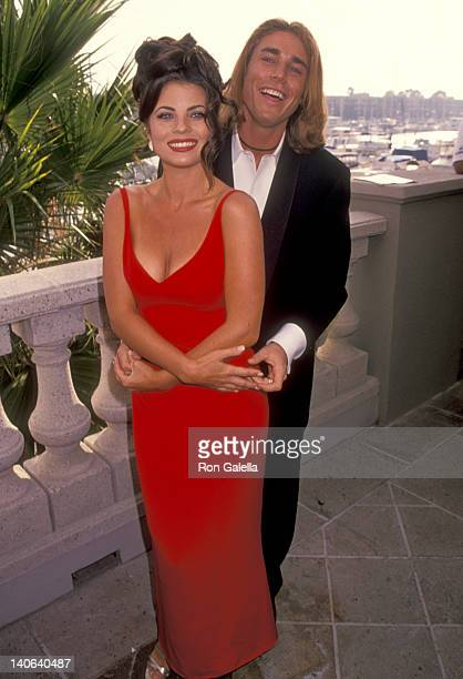 Yasmine Bleeth and Jaason Simmons at the 100 Episode Celebration of 'Baywatch' RitzCarlton Hotel Marina Del Rey