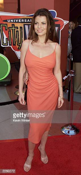Yasmine Bleeth at NBC's party held for the Television Critics Association The party was held at Jillians at Universal City Walk in Los Angeles Ca...