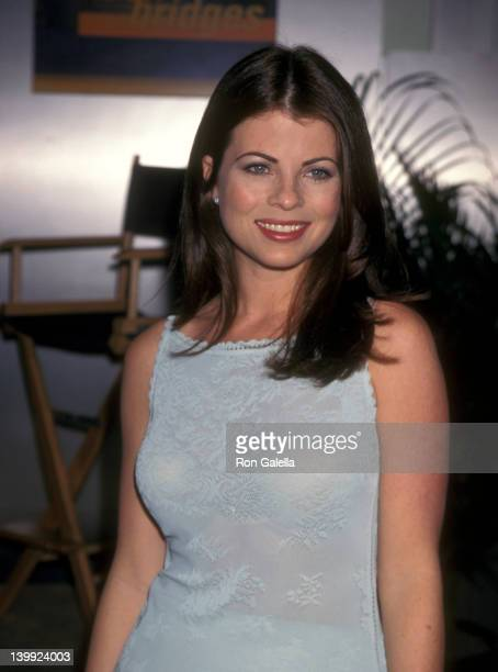 Yasmine Bleeth at the 1999 National Association of Television Program Executives Convention, , New Orleans.