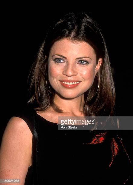 Yasmine Bleeth at the NBC 2000 Upfronts Party Ruby Foo's New York City