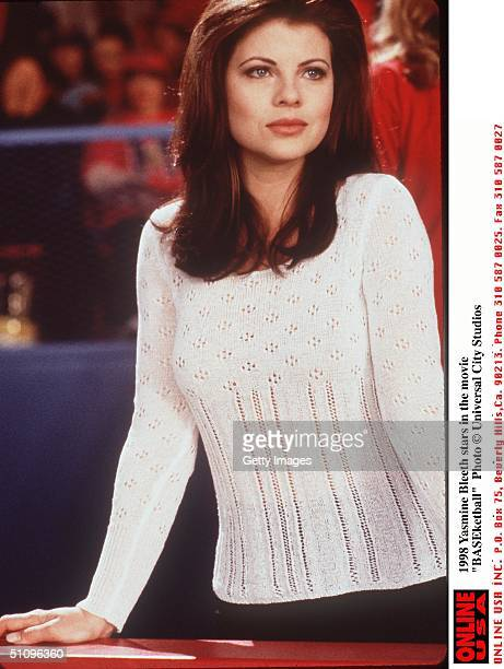 Yasmine Bleeth Stars In The Movie Baseketball