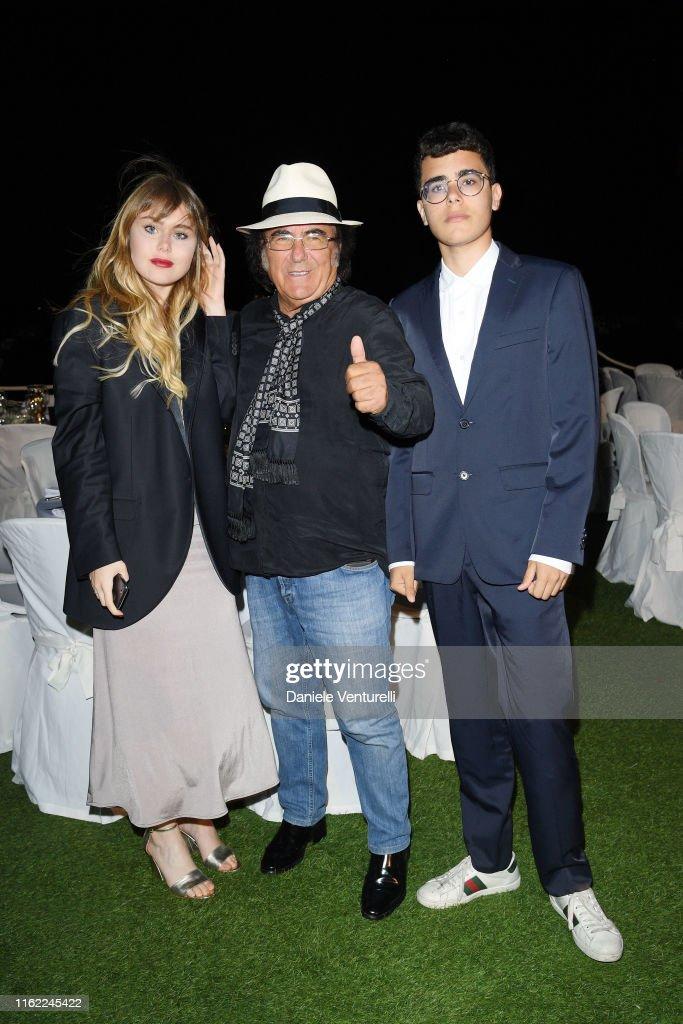 Yasmine Carrisi Al Bano Carrisi And Albano Carrisi Jr Attend
