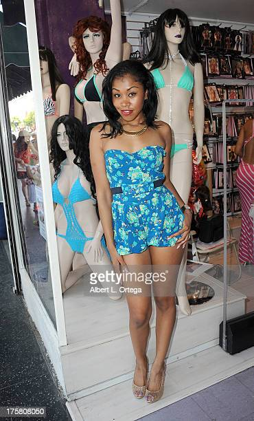 Yasmine De Leon Participates In Bizzy B Hosts Instore Signing Of Adult Film Stars Held At