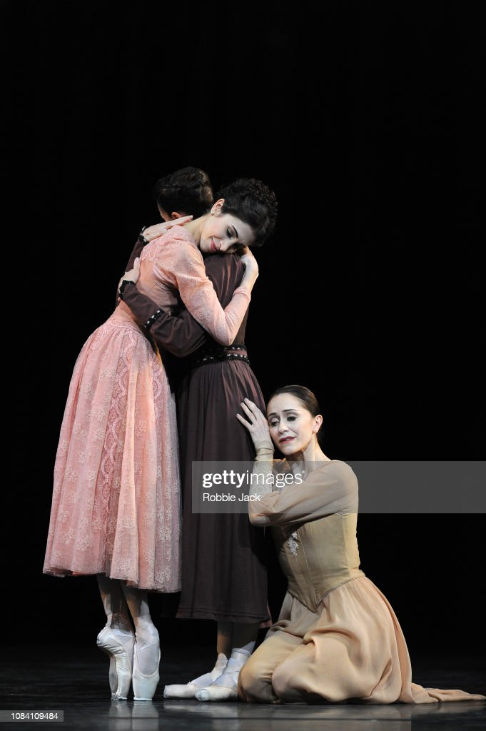 Kenneth MacMillan's 'Winter Dreams' At The Royal Opera House London : News Photo
