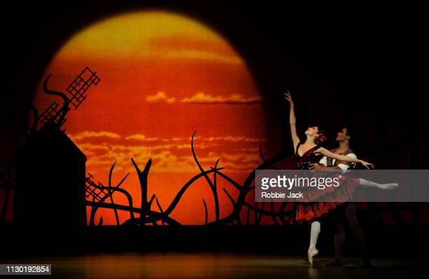 Yasmine Naghdi as Kitri and Marcelino Sambe as Basilio in The Royal Ballet's production of Carlos Acosta's adaptation of Marius Petipa's Don Quixote...