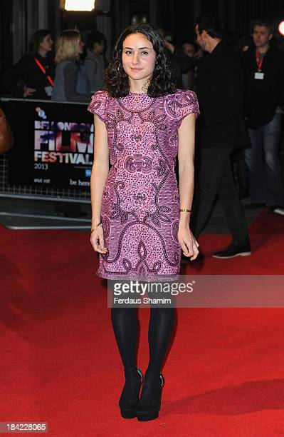 Yasmine Paige attends a screening of 'The Double' during the 57th BFI London Film Festival at Odeon West End on October 12 2013 in London England