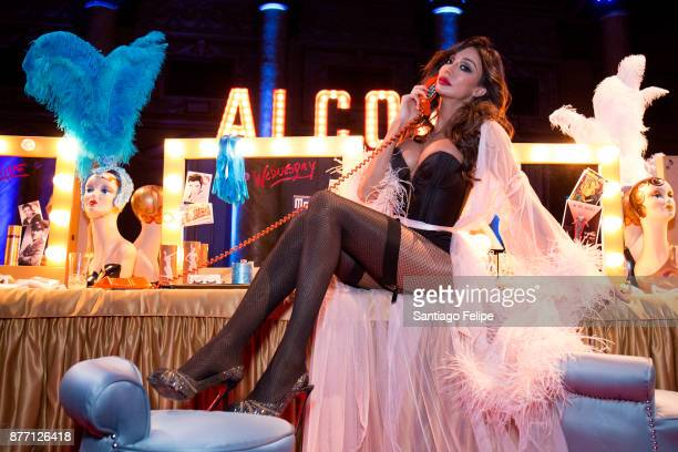 Yasmine Petty attends the Alcone Company 65th Anniversary Gala at Capitale on November 10 2017 in New York City