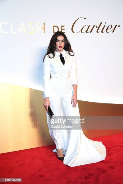 Yasmine Sari during the Clash de Cartier event at la Conciergerie on April 10 2019 in Paris France