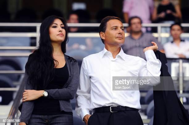 Yasmine TORJMAN / Eric BESSON PSG / Bordeaux 3eme journee de Ligue 1 Parc des Princes Paris