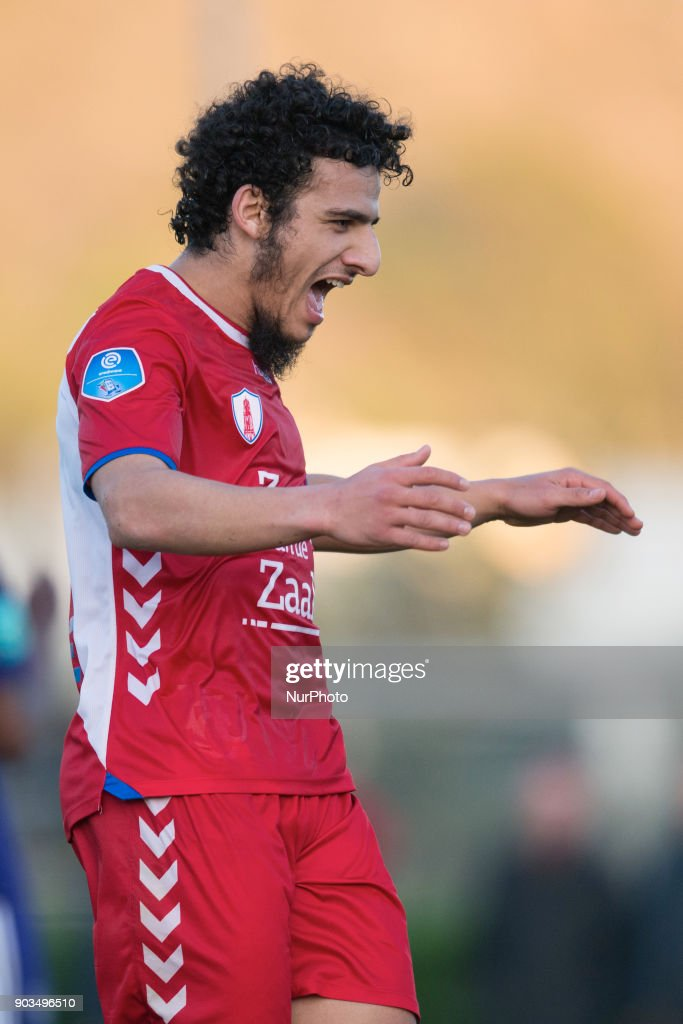 Yassin Ayoub during the friendly match between FC Utrecht vs. RSC Anderlecht at La Manga Club, Murcia, SPAIN. 10th January of 2018.