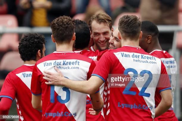Yassin Ayoub of FC Utrecht Mateusz Klich of FC Utrecht Mark van der Maarel of FC Utrecht Willem Janssen of FC Utrecht Zakaria Labyad of FC Utrecht...