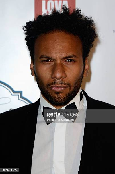 Yassine Azzouz attends the Lova World Images Closing Party during the 66th Annual Cannes Film Festival at Baoli Beach on May 22 2013 in Cannes France