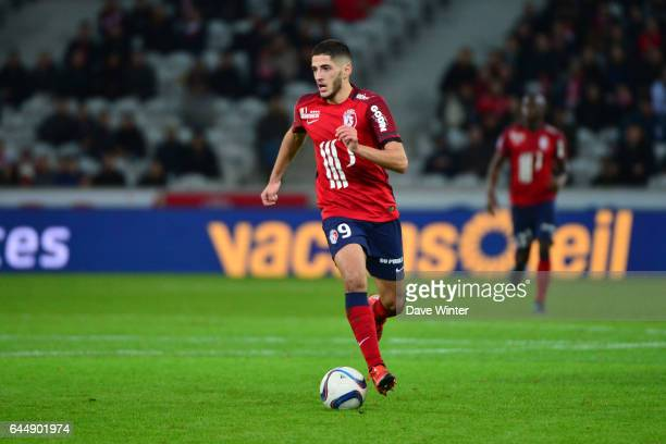 Yassine BENZIA Lille / Saint Etienne 16eme journee de Ligue 1 Photo Dave Winter / Icon Sport