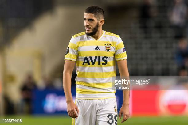 Yassine Benzia of Fenerbahce SK during the UEFA Europa League group D match between RSC Anderlecht and Fenerbahce AS at Constant Vanden Stock Stadium...