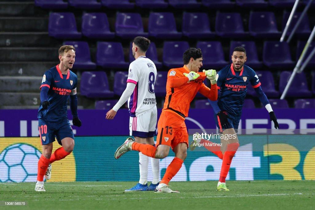 Real Valladolid CF v Sevilla FC - La Liga Santander : ニュース写真