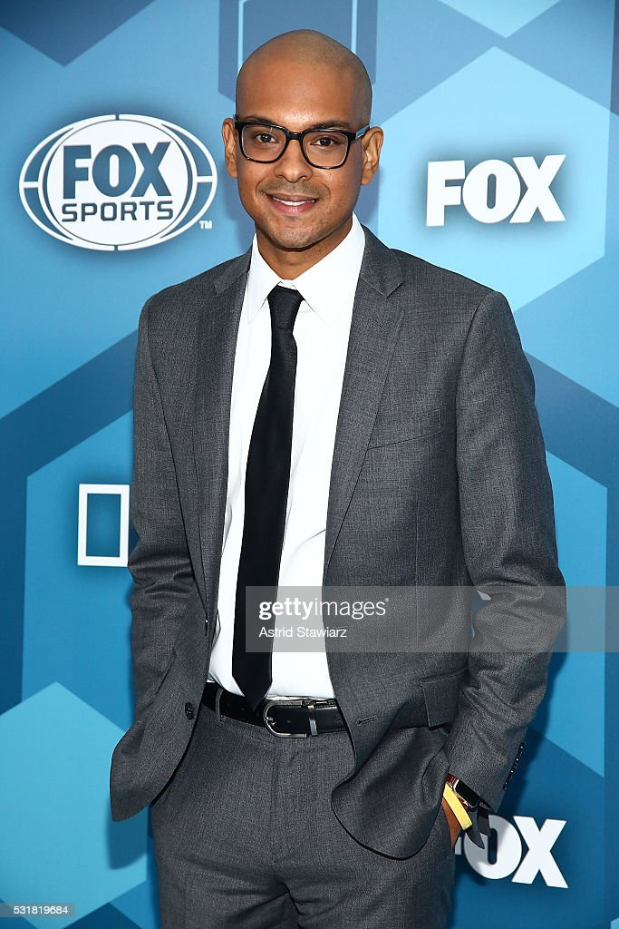 Yassir Lester attends FOX 2016 Upfront Arrivals at Wollman Rink, Central Park on May 16, 2016 in New York City.