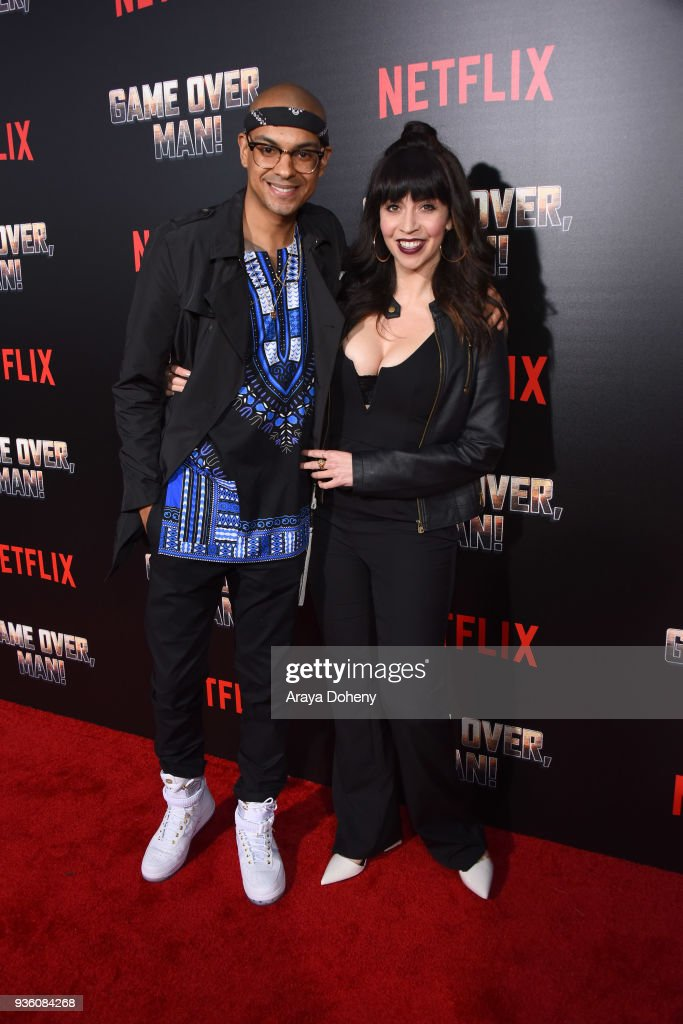 "Premiere Of Netflix's ""Game Over, Man!"" - Red Carpet"