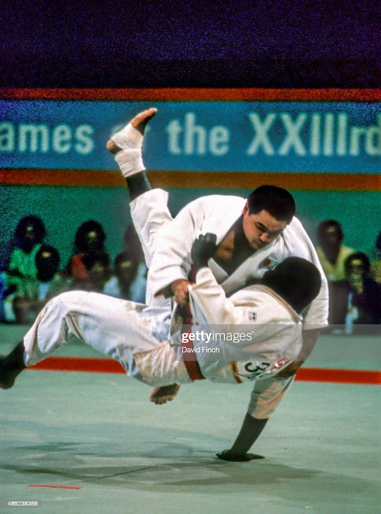 1984 Los Angeles Olympic Judo - 4th to 11th August : ニュース写真