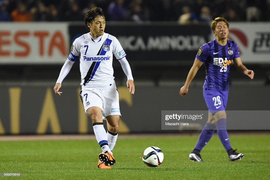 Sanfrecce Hiroshima v Gamba Osaka - J.League 2015 Championship : News Photo