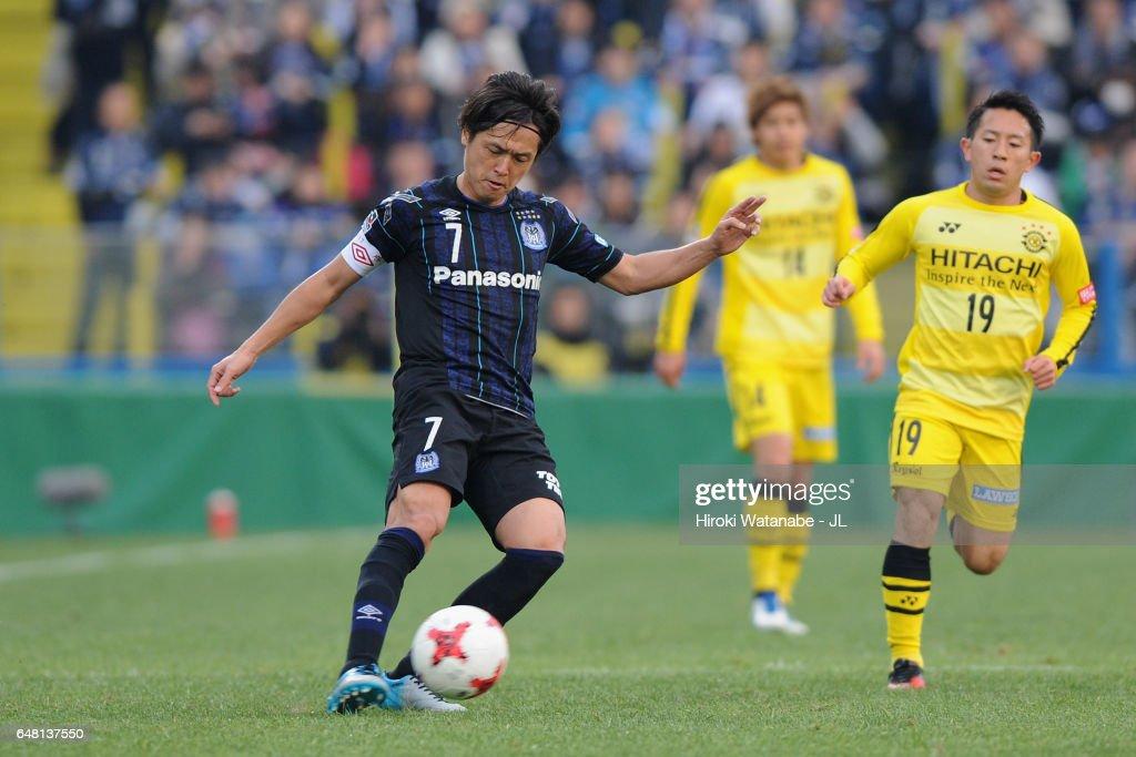 Kashiwa Reysol v Gamba Osaka - J.League J1 : ニュース写真