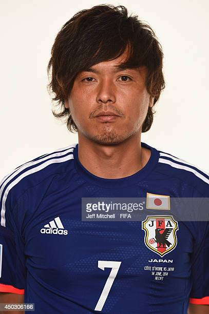 Yasuhito Endo of Japan poses during the official Fifa World Cup 2014 portrait session on June 8, 2014 in Sao Paulo, Brazil.