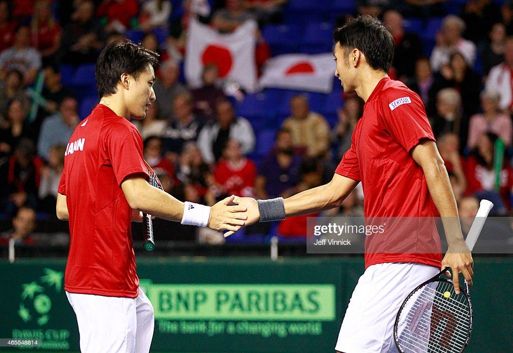 Davis Cup: Canada v Japan - Day 2