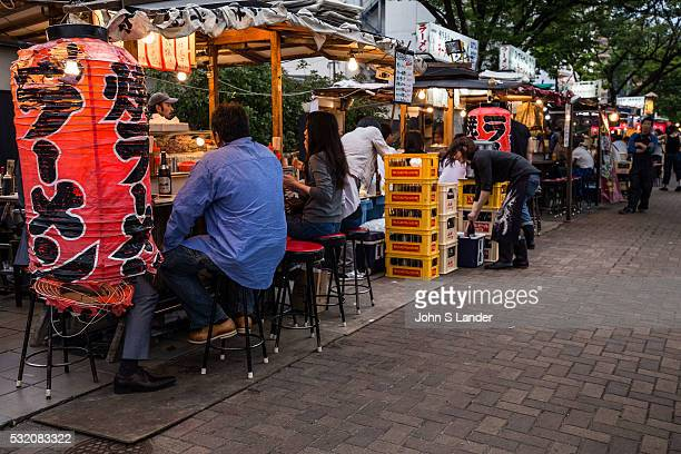 A yatai is a small mobile food stall typically selling ramen yakitori or oden The name literally means shop stand The stall is set up in the early...